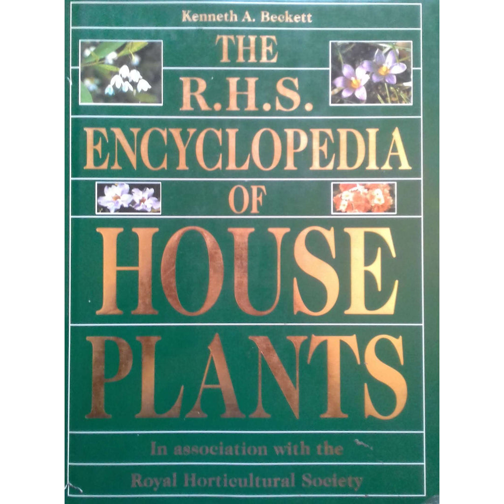 Bookdealers:The R.H.S. Encyclopedia of House Plants | Kenneth A. Beckett