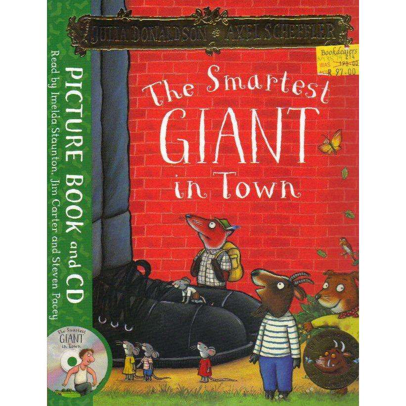 Bookdealers:The Smartest Giant in Town: Book and CD Pack Axel Scheffler, Imelda Staunton, Jim Carter, St Julia Donaldson