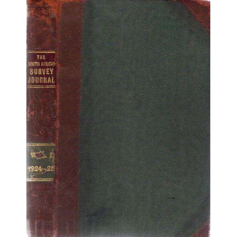 The South African Survery Journal:  Vol 1, 1924 - 1925 | Editor: W. Whittingdale