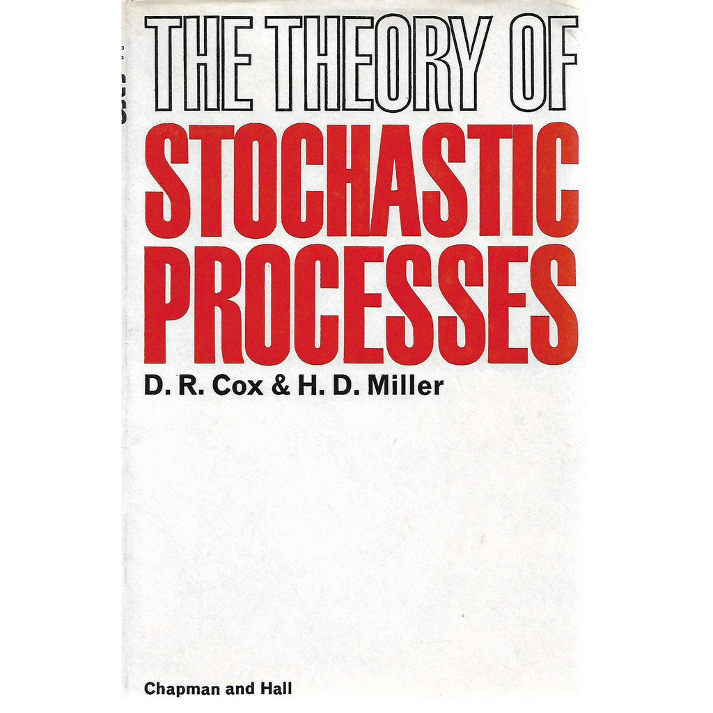 Bookdealers:The Theory of Stochastic Processes | D. R. Cox and H. D. Muller