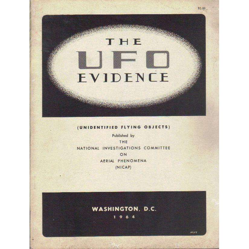 Bookdealers:The UFO Evidence (Unidentified Flying Objects) | Richard H. Hall