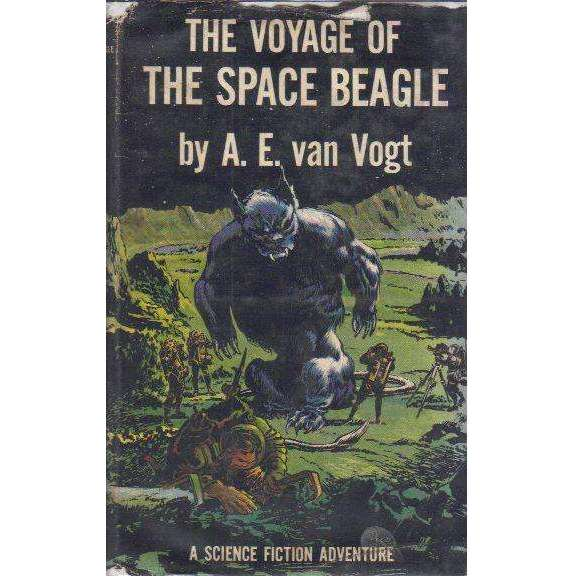 Bookdealers:The Voyage of The Space Beagle, (First Edition 1950) | A.E. van Vogt