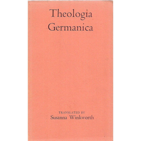 Theologia Germanica | Susanna Winkworth (Trans.)