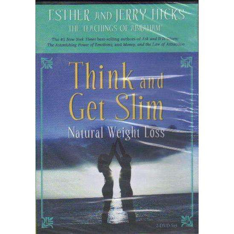 Think and Get Slim: (2 Dvd's) Natural Weight Loss | Hicks, Esther and Jerry