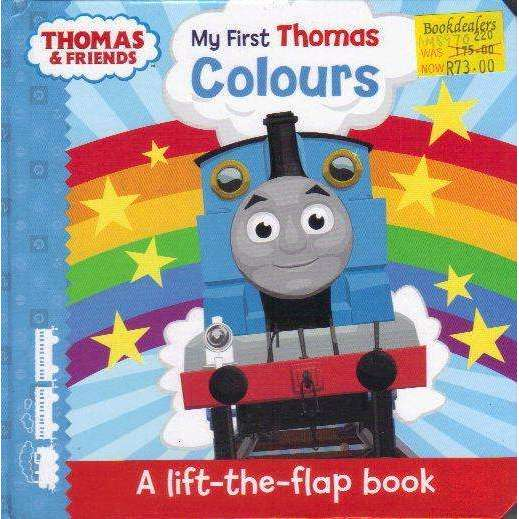 Bookdealers:Thomas & Friends: My First Thomas Colours (My First Thomas Books) | Rev. W. Awdry