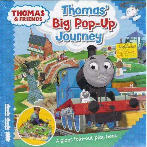Thomas & Friends: Thomas' Big Pop-Up Journey (A Giant Fold-Out Play Book)