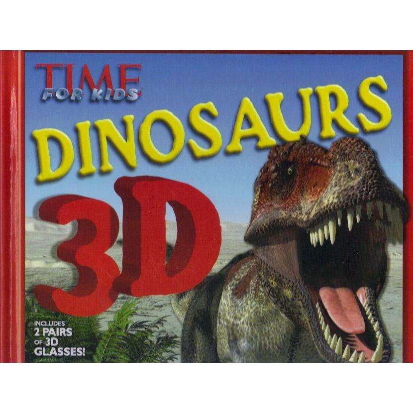 Bookdealers:TIME For Kids Dinosaurs 3D: An Incredible Journey Through Time | The Editors of TIME For Kids