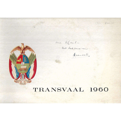 Transvaal 1960 (Folder with Information Booklets in Afrikaans and English)