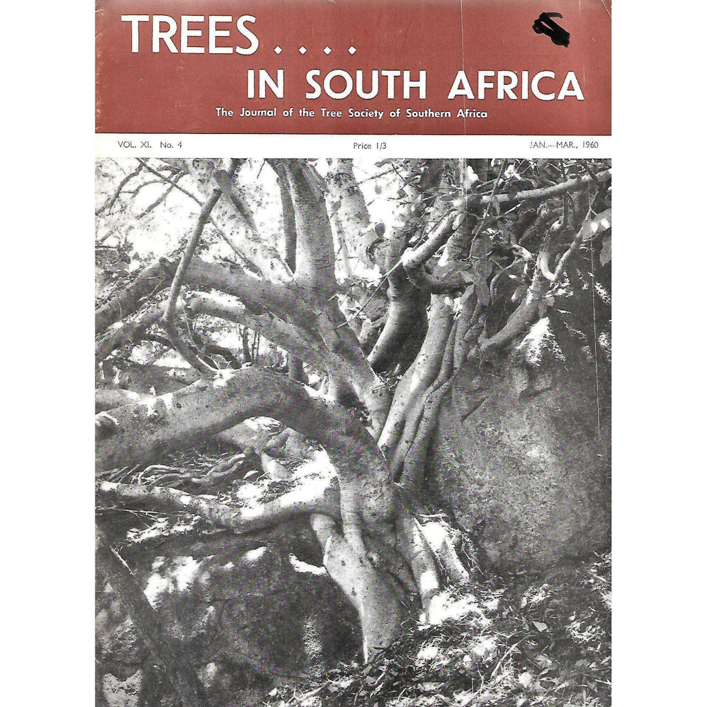 Bookdealers:Trees in South Africa (Vol. 11, No. 4, January-March, 1960)