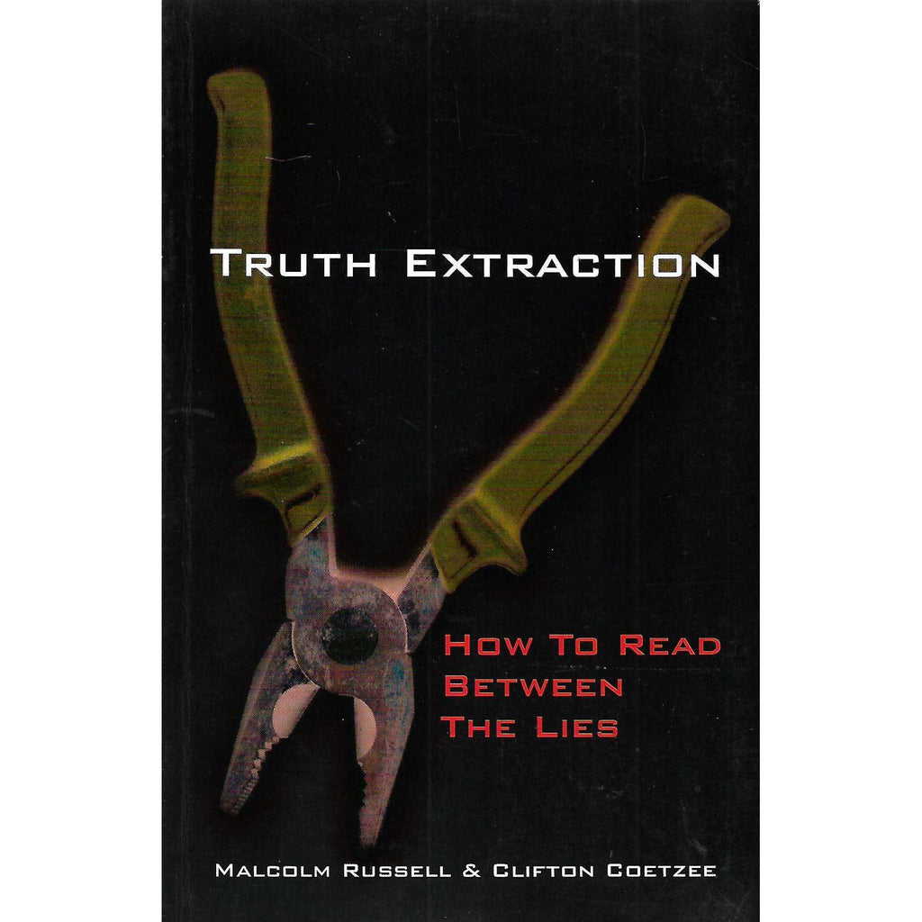 Bookdealers:Truth Extraction: How to Read Between the Lines | Malcolm Russel and Clifton Coetzee