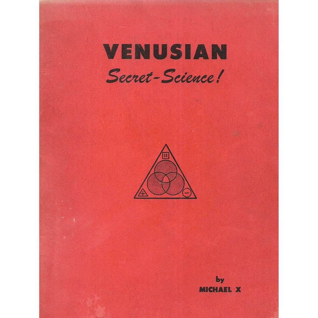 Bookdealers:Venusian Secret-Science | Michael X