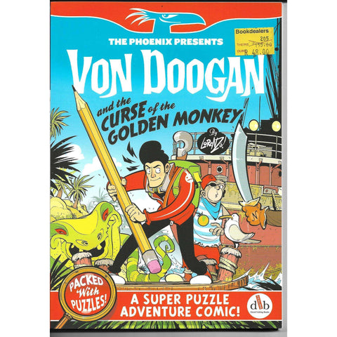 Von Doogan and the Curse of the Golden Monkey  - A Super Puzzle Adventure Comic ! | Lorenzo Etherington