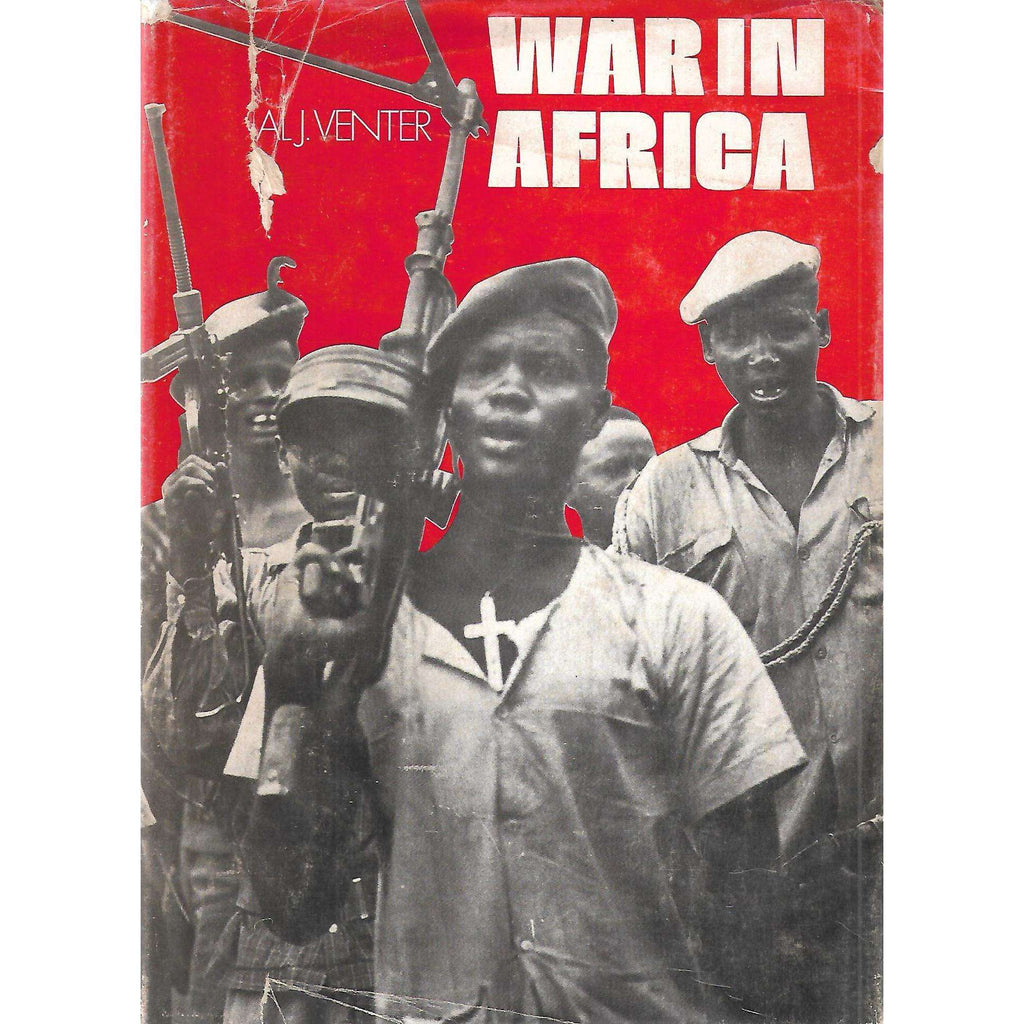 Bookdealers:War in Africa (Signed by Author) | Al J. Venter