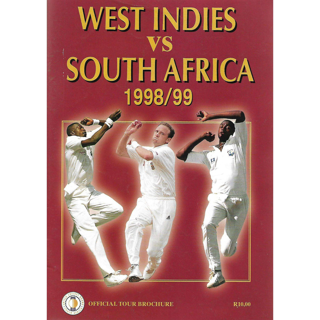 Bookdealers:West Indies Vs South Africa 1998/99: Official Tour Brochure