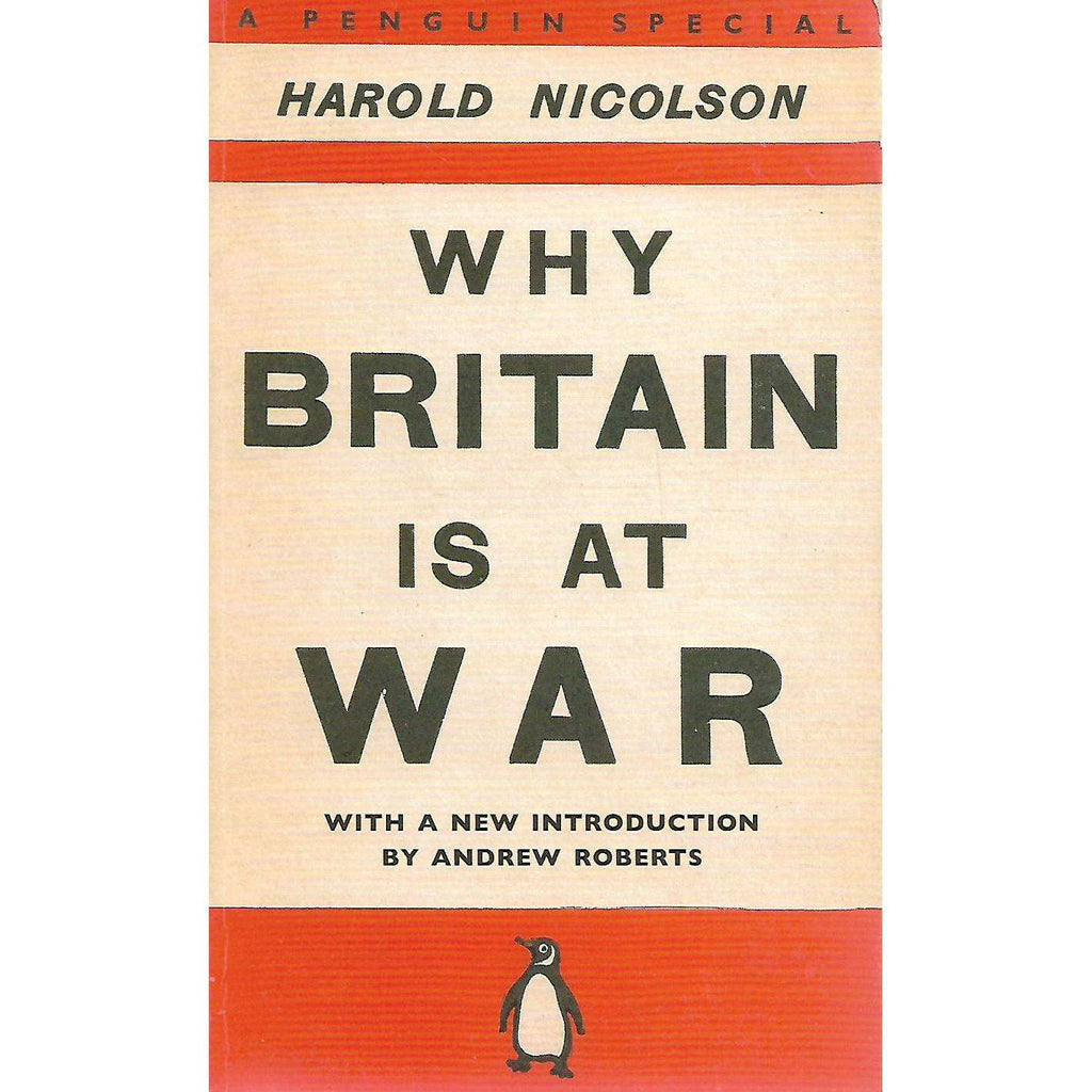 Bookdealers:Why Britain is at War | Harold Nicolson