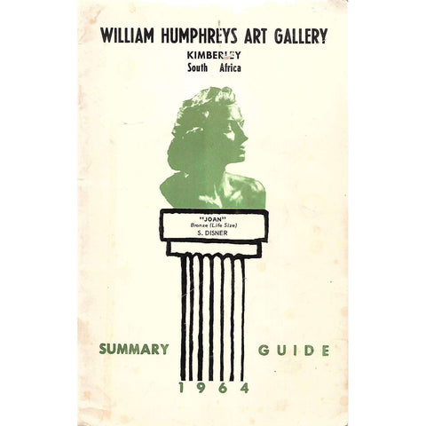 William Humphreys Art Gallery: Summary Guide 1964