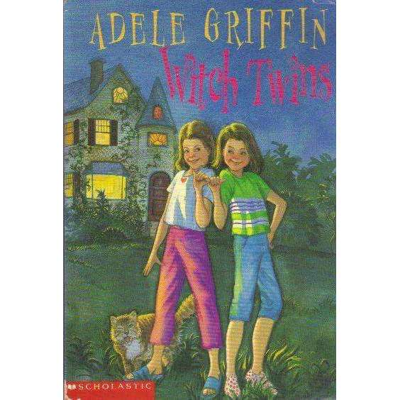 Bookdealers:Witch Twins (With Author's Inscription) | Adele Griffin