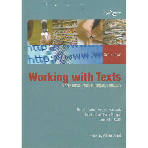 Working With Texts: A Core Introduction to Language Analysis (Third Edition) | Adrian Beard (Ed.)