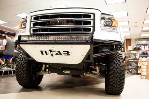 Grilles and light bars at Capital Customs in Regina