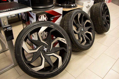Low Pro Wheels at Capital Customs in Regina