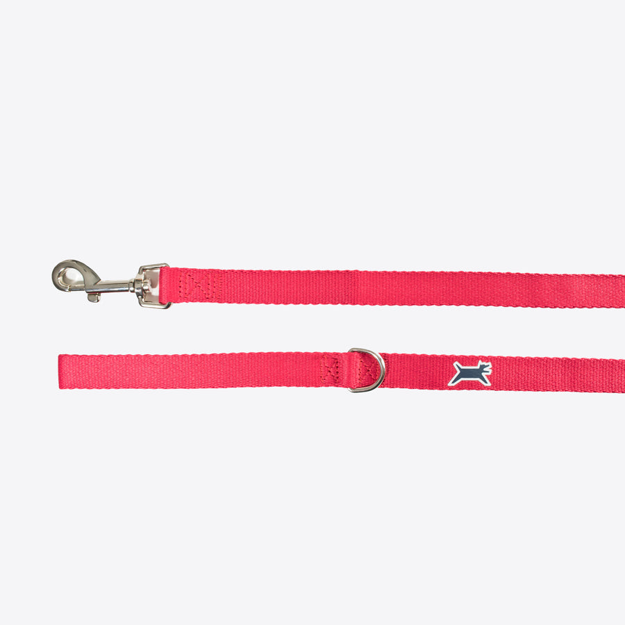 Wagberry Classic Leash - Tribeca Red
