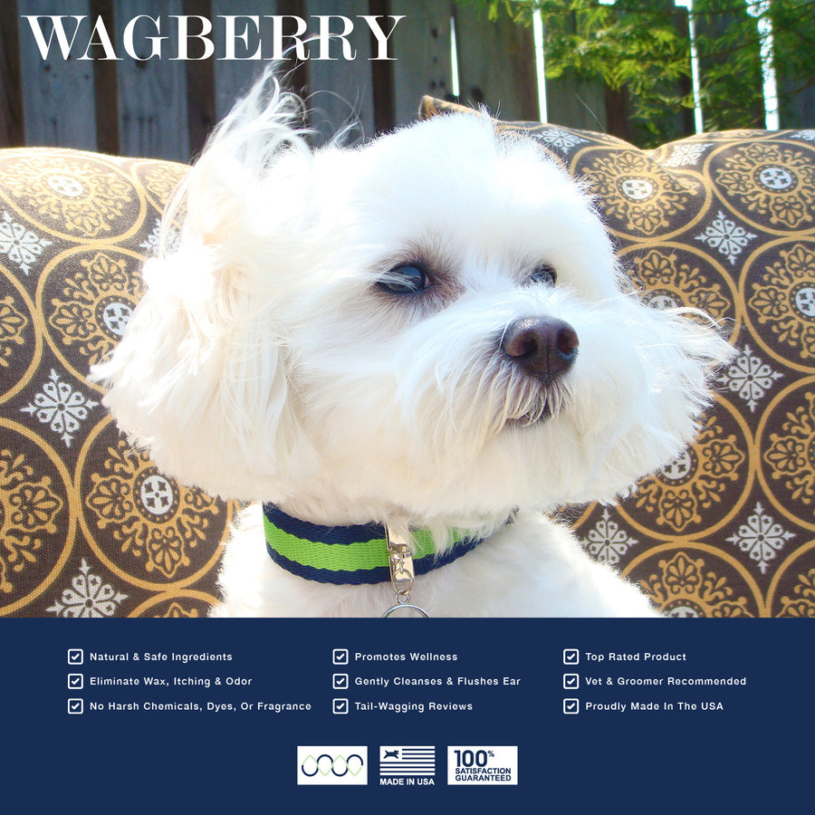 Wagberry Ear Cleaner for Dogs