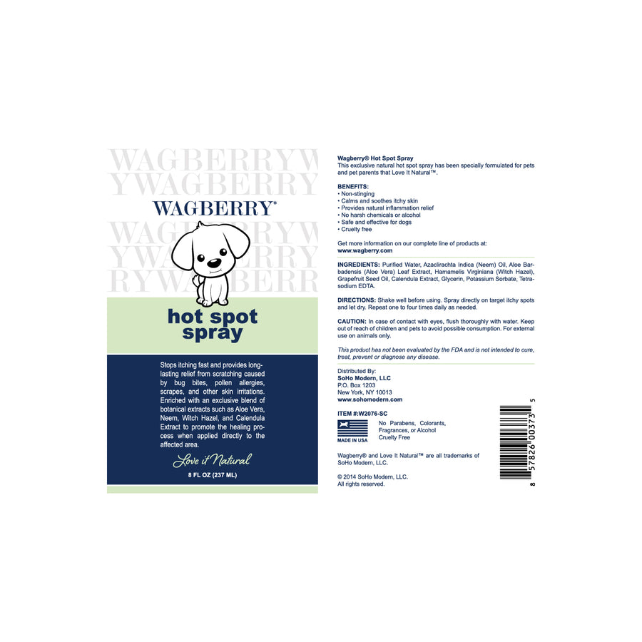 Wagberry Soothing Hot Spot Spray
