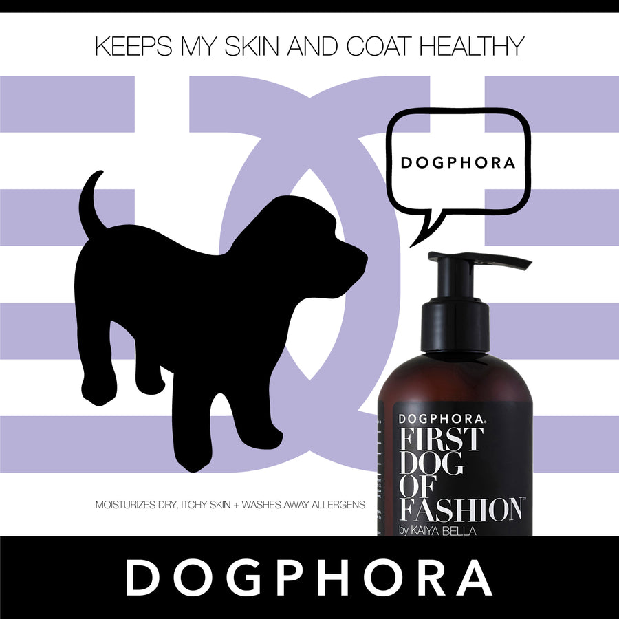 Dogphora First Dog of Fashion Three-Piece Grooming Set