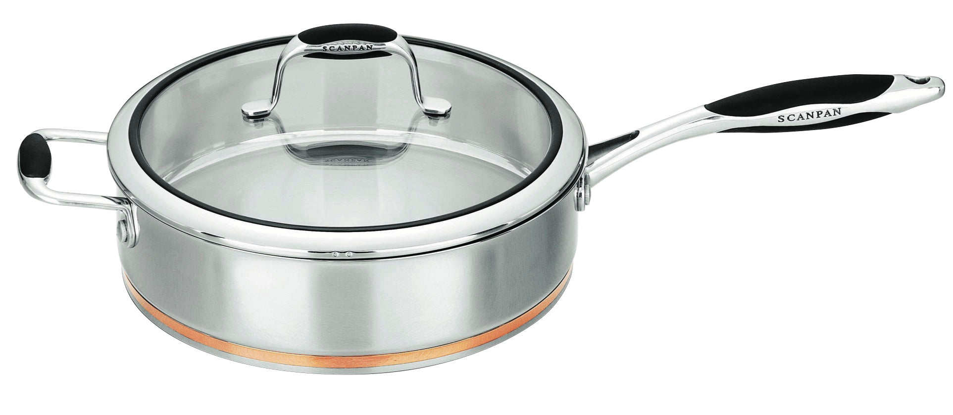 Scanpan Coppernox Saute Pan 28cm with Lid