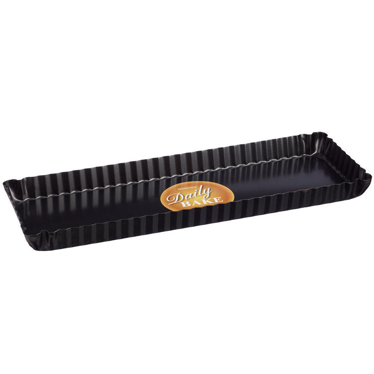 Daily Bake  Rectangle Tart Pan Fluted 11x30