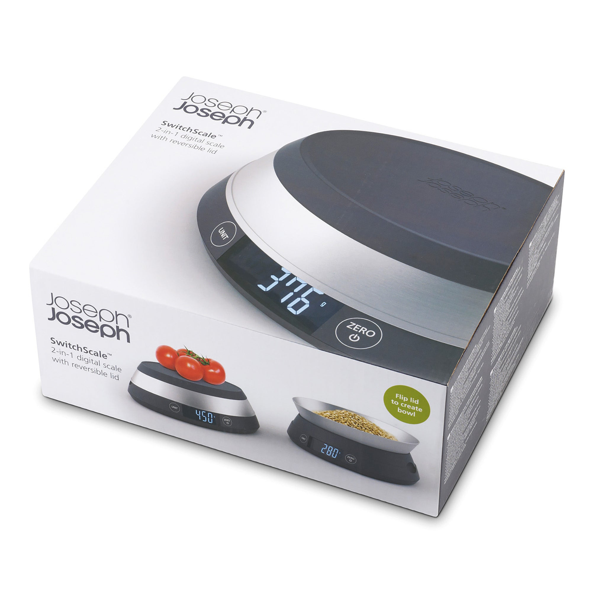 Joseph Joseph Switch Scale Grey