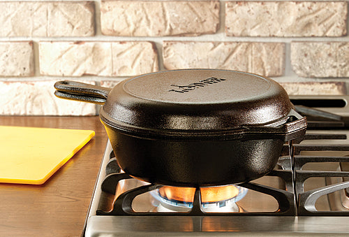 Lodge Combo Cooker 26cm with Frypan Lid