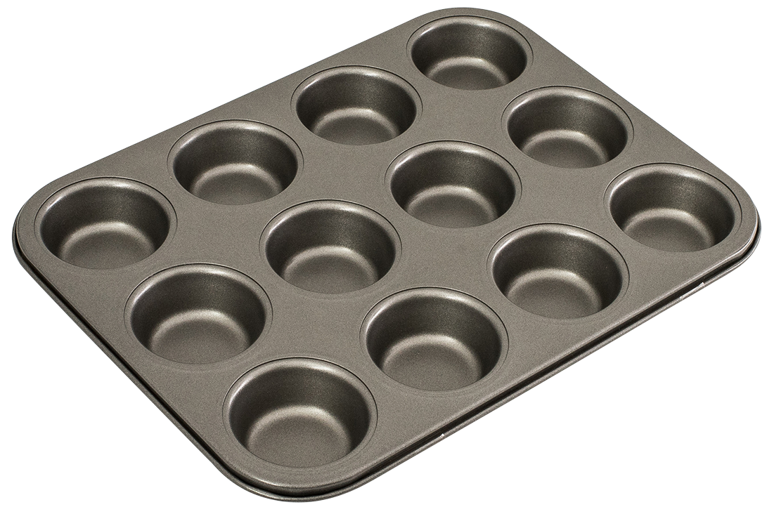Bakemaster Muffin Pan 12 Cup