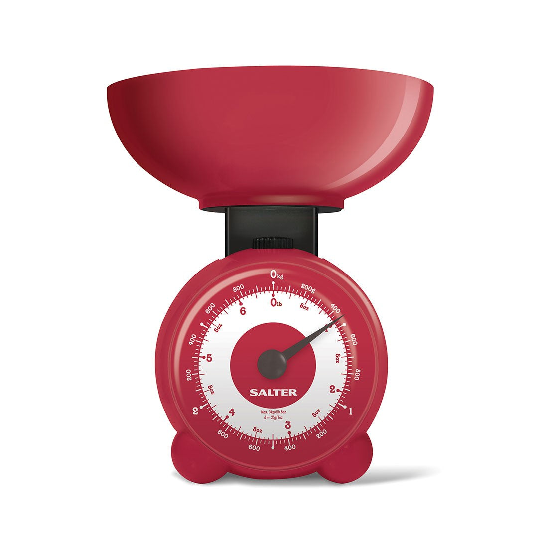 Salter Orb Scale Red