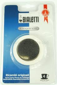 Bialetti Elegance SS Replacement Seal/Filter Set