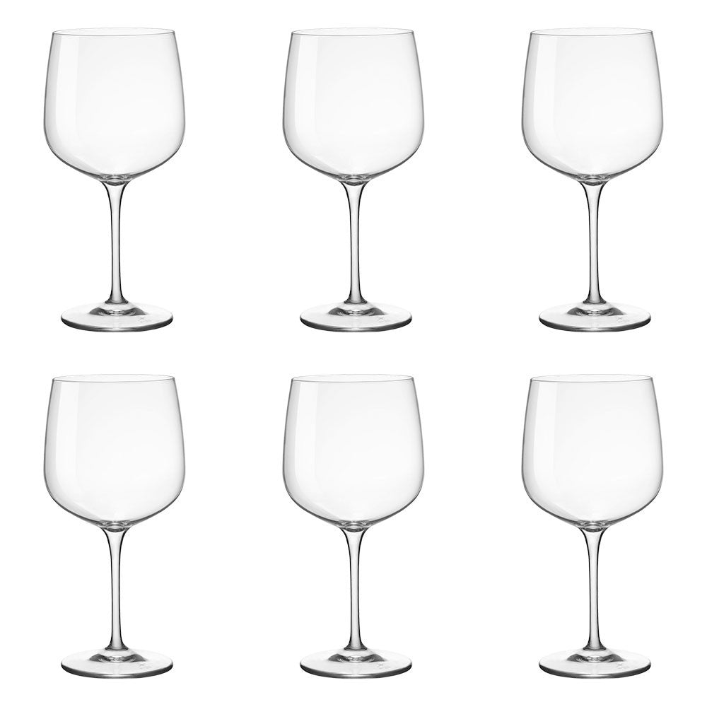 Bormioli Rocco Premuim Gin/Cocktail Glasses 6Pk