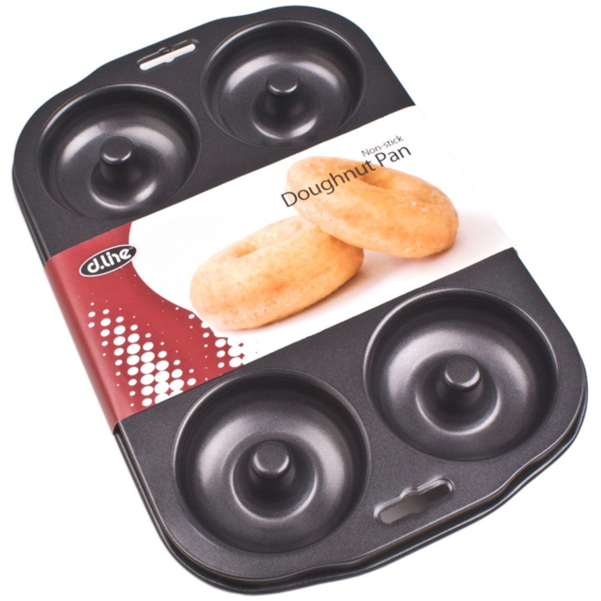 Dline Donut Pan 6 Cup