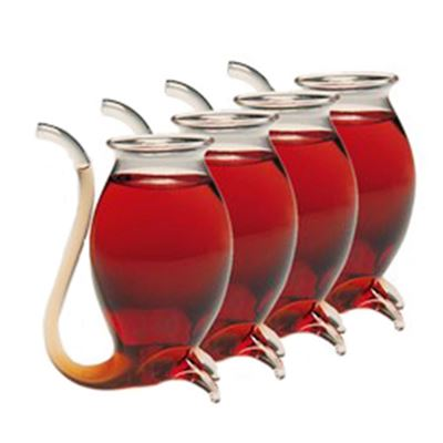 Avanti Hand Blown Port Sippers 4Pk