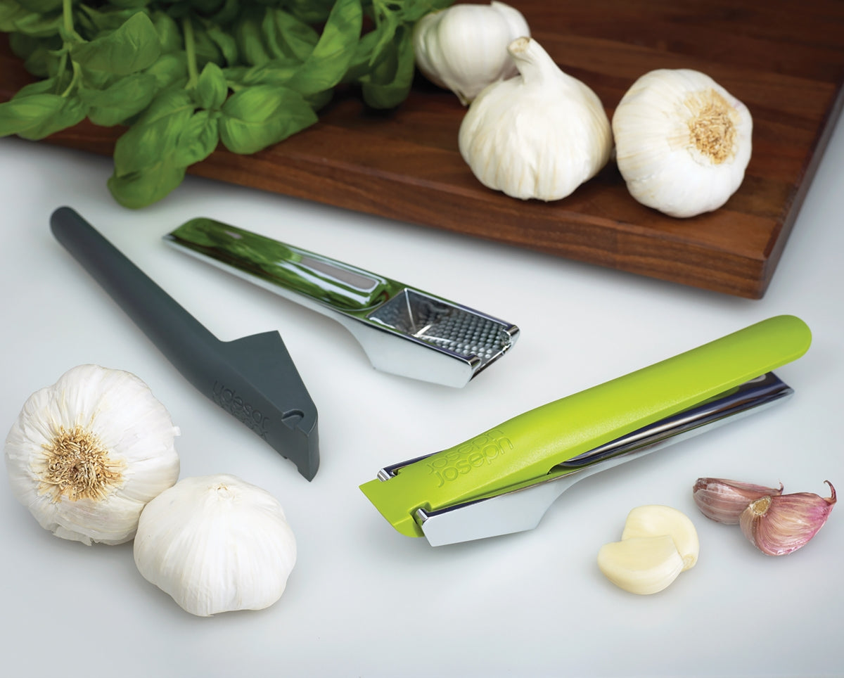 Joseph Joseph Easy Clean Garlic Press Green