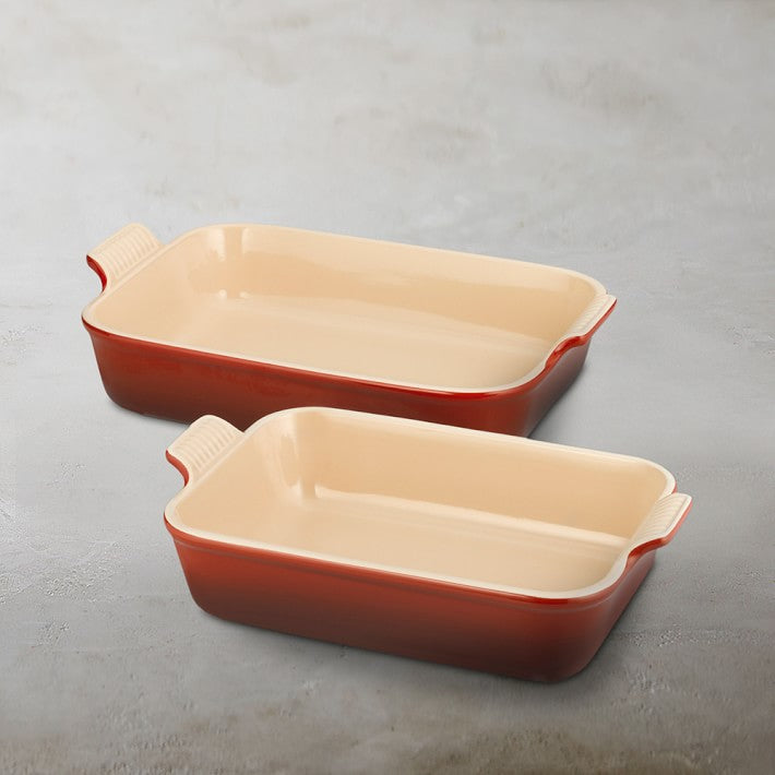 Le Creuset Heritage Rectangle Oven Dishes