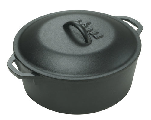 Lodge Logic Cast Iron Casserole 30cm 6.5ltr
