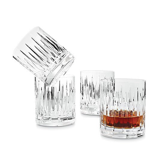 Reed and Barton Soho DOF Whiskey Set 4Pk