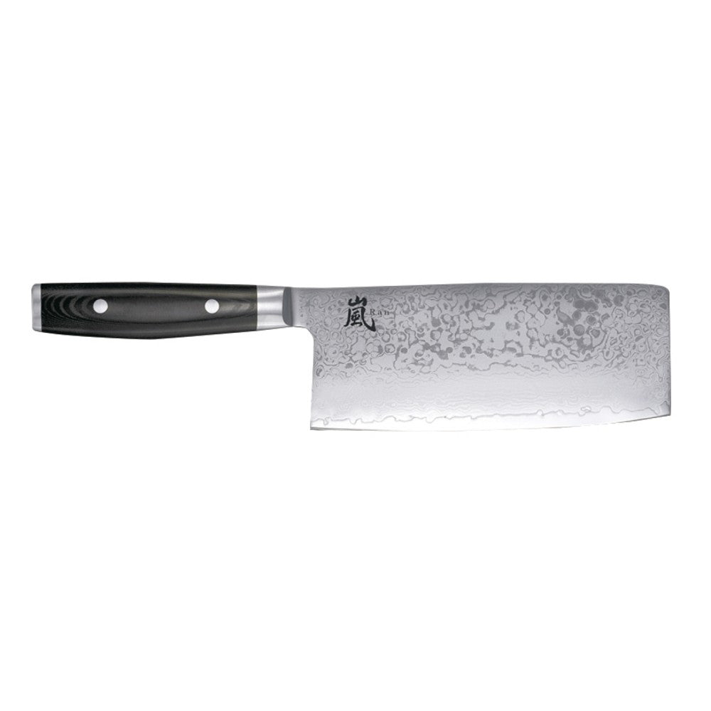 Yaxell Ran Chinese Chefs Knife 18cm