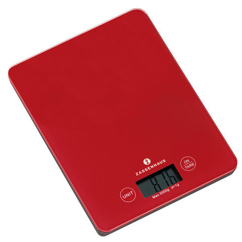 Zassenhaus Electronic Kitchen Scale 5kg