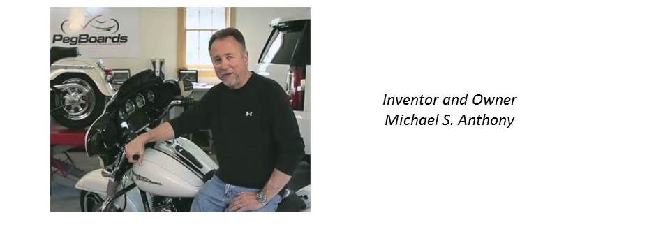 Inventor and Owner Michael S. Anthony