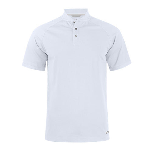 Advantage Stand-Up Collar Polo - Hvid