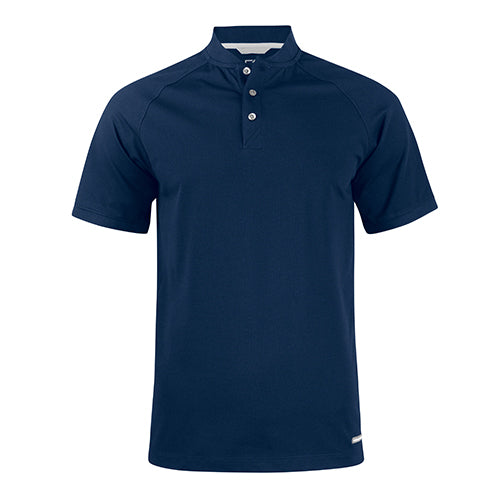 Advantage Stand-Up Collar Polo - Navy