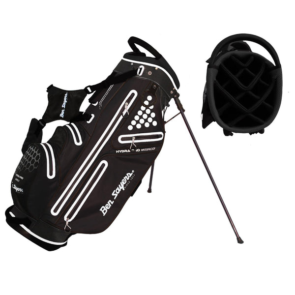 Ben Sayers Hydra Pro WP - Stand Bag Sort/Hvid