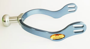 Spur | buffer final interchangeable kit | final interchangeable kit | final interchangeable | spur | technical | Makebe | equestrian | riding | horse | combinations of terminals | terminals | light blue |