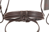 Bridle | leather | sleek anatomical headpiece | convex noseband